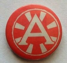 Vintage ANARCHY Early 1980s Pin Badge British Punk Rock