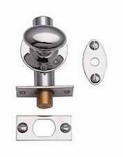 Pack of 2 - SECURITY BOLTS WITH THUMBTURNS - POLISHED CHROME (2)