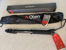 Oben Acm-2400 4-Section Pro Aluminum Heavy Duty Photo-Video Travel Monopod New!