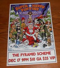 Super Happy Fun Time X-Mas Special Poster Original Promo 11x17