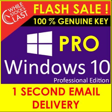 🔥Windows 10 PROFESSIONAL 32/64 BIT 🔥 Genuine License Key 🔑 Fast Delivery 🔥