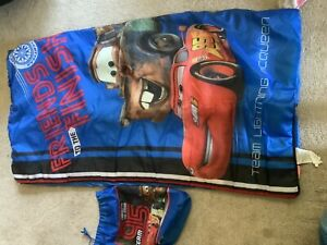 Boys Lightning McQueen sleeping bag