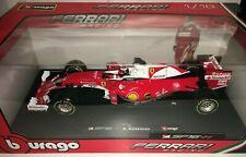 1:18 Bburago #18-16802R Kimi Raikkonen Ferrari SH16 H #7 2016