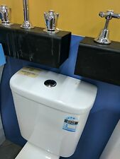 Dual Flush Ceramic Toilet Cistern / White / Bathroom / Laundry / Tank / Water