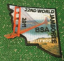 2011 World Scout Jamboree USA BSA Contingent Section Golden Gate Bridge section