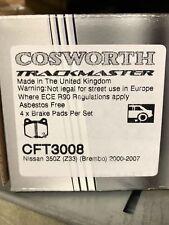 Cosworth Trackmaster Rear Brake Pads Fits Subaru Impreza WRX STI 2002