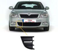Skoda Octavia 2009-2013 Front Bumper Lower Grille Driver Side Insurance Approved