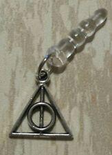 Deathly Hallows Phone Dust Plug Tibetan Silver Charm All Phones Harry Potter
