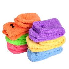 6 Paar Damen Flauschige Süße Socken Bettsocken Kuschelsocken Winter Strümpfe Neu