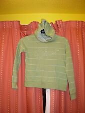 HOODED GREEN JUMPER BY ANIMAL SIZE M