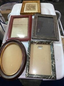 Vintage Antique Photo Frames Set A Five