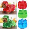 Pet Rain Coat Raincoat Waterproof Outdoor Jacket Dog Puppy Clothes Transparent