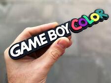 Game Boy Color badge 3D magnet - Retro Video Games Logo Fridge/Car Magnet