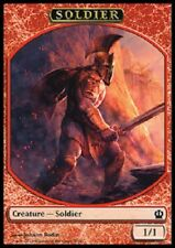 Soldier Token x4 NM  Magic the Gathering    MTG Theros # 7