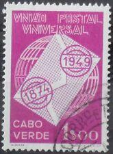 Cabo Verde Kapverden Portugal Kolonie 1949 Weltpostverein UPU Mi. Nr. 270 gest.