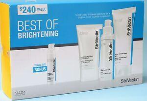 STRIVECTIN BRIGHTENING & PERFECT 4PC SET- 2 Serum, Moisturizer, Mask -$240 Value