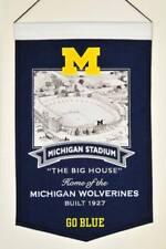 """Michigan Wolverines Ncaa 15"""" x 24"""" Stadium Banner Flag Michigan Winning Streak"""