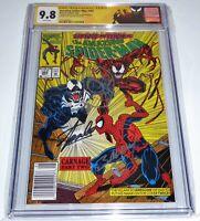 Amazing Spider-Man #362 2x Signature CGC SS 9.8 STAN LEE BAGLEY Spidey Sketch💎