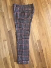 Mens Vintage Pants 60's Hastings Of San Francisco Mod Plaid Hippie