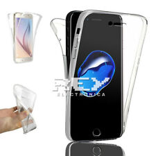 Funda Doble Silicona para IPHONE 7 Gel TPU Transparente 360º i405
