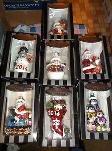 "NIB Celebrations by Radko Christopher Radko Large Ornament Box 7"" High Drop Box"