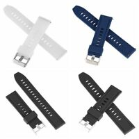 18 20 22 24mm Watch Band Universal Quick Release Sports Soft Silicone Watch Band