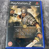 Shadow Of Rome PS2 PlayStation 2 PAL Game Complete Capcom Brutal Action