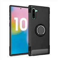 Handy hülle für Samsung Note 10 Case Stehend Schutzhülle Etui Cover Ringhalter