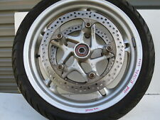 SILVER FRONT WHEEL/RIM 3,50 X 17 BMW R 1150 RS YEAR 2003 PART NR. 36312333465