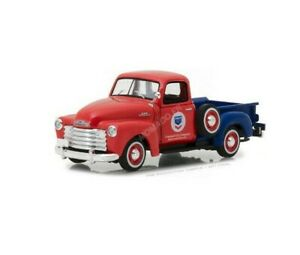 1/43 Greenlight Chevrolet 3100 Pick-UP Standard Oil 1953 Neuf Livraison Domicile