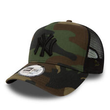 NEW ERA New York Yankees Clean A Frame Trucker Cap Camo BNWT