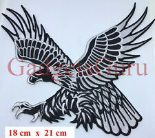 EAGLE PATCH Eagle bird hawk    Embroidery iron on / sew on patch {812}