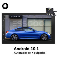 "7"" Android Autoradio Radio de Coche 2 DIN Bluetooth GPS MP5 Quad Core + cámara"