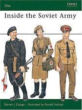 Inside the Soviet Army (Elite), Military, Russia, World, Steven Zaloga, Good, 19