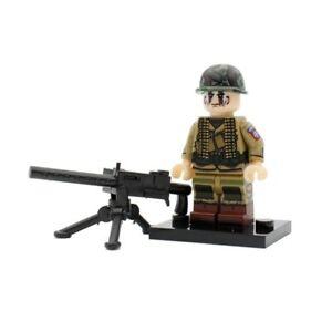 ⭐Lego WW2 Bataille de Normandie Soldats Américains Militaire Armée Military USA⭐