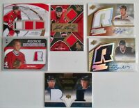 Rookie Uniform JERSEY CARDS -- 6 ROOKIE CARDS  inc.Fritsche & Nash  Only $9.95