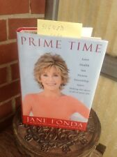 JANE FONDA SIGNED BRAND NEW BOOK PRIME TIME.