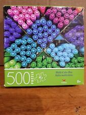 """Spin Master 500 piece puzzle my data colored pens 8+, 14x11"""""""
