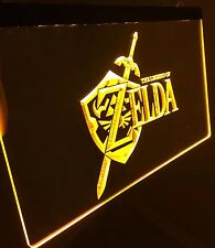 THE LEGEND OF ZELDA LED Sign for Game Room,Office,Bar,Man Cave Super NINTENDO