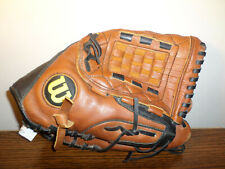 """New listing Wilson A500 12.5"""" Baseball Glove Right Hand THrow A0500 Ecco Leather - Fast Ship"""