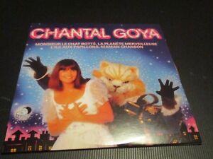 """CD NEUF """"MONSIEUR LE CHAT BOTTE"""" Chantal GOYA / 14 TITRES"""