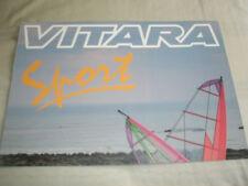 Suzuki Vitara Sport brochure Apr 1993