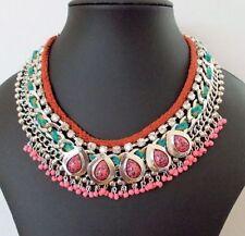 Crystal Gemstone Statement Costume Necklaces & Pendants