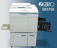 Riso GR 3750 Color High Speed Digital Duplicator
