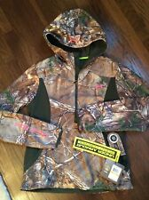 Women's Under Armour Size Small Storm 1 Camo Hunting Jacket  Scent Control