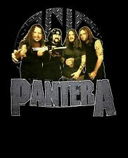 PANTERA cd lgo GROUP PHOTO / 3 Official SHIRT LRG New superjoint down dimebag
