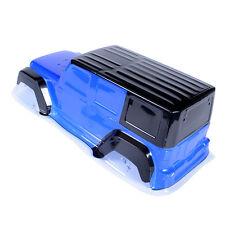 Crawler D90 PVC Paintable Body Shell W/Sticker Wheelbase 313mm For RC 1/10 Blue
