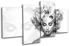 Madonna Music Iconic Celebrities MULTI TOILE murale ART Photo Print