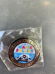 21 HAPO Columbia Cup Event COIN Unlimited Hydroplane Pin button Seattle Seafair