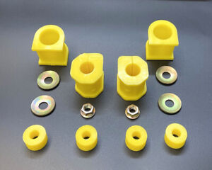 MITSUBISHI L200 K74 DOUBLE CAB 96-07 FRONT ANTI ROLL BUSH KIT UPPER AND LOWER